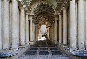 Musei più belli di Roma: prospettiva galleria Spada