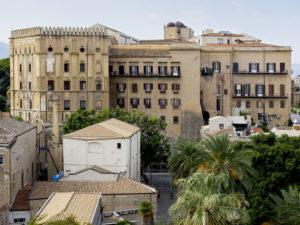 percorso arabo normanno Palermo: Palazzo Reale