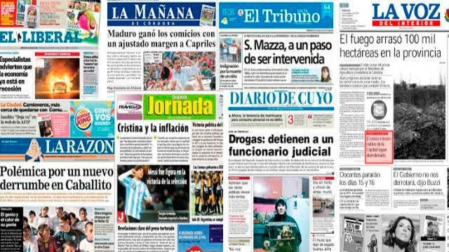 Los diarios del interior sin apoyo nacional, comienzan a cerrar y despedir personal