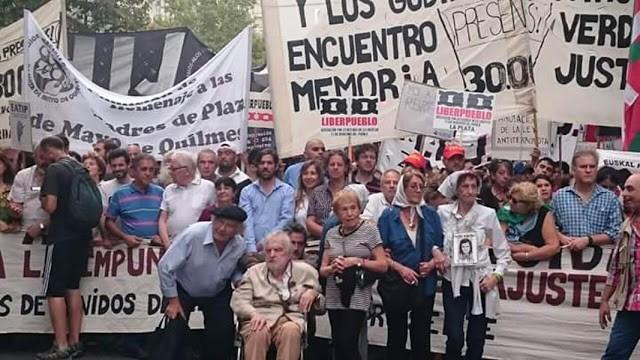 El 10 de diciembre habrá una gran marcha convocada por todos los organismos de derechos humanos