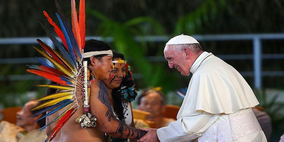 """Francisco: """"América Latina esta sufriendo bajo un capitalismo deshumano"""""""