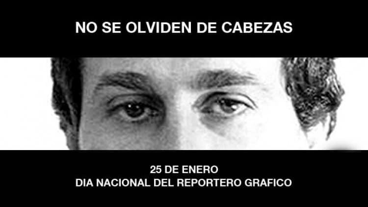 Hoy se conmemora el día del reportero gráfico en homenaje a José Luis Cabezas