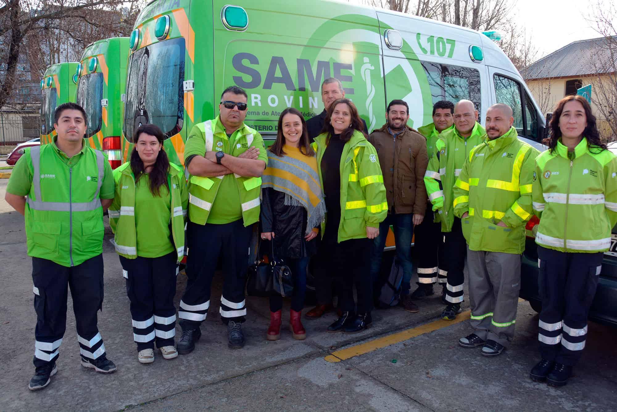 Llegaría el SAME a Ituzaingó con 7 ambulancias de alta complejidad