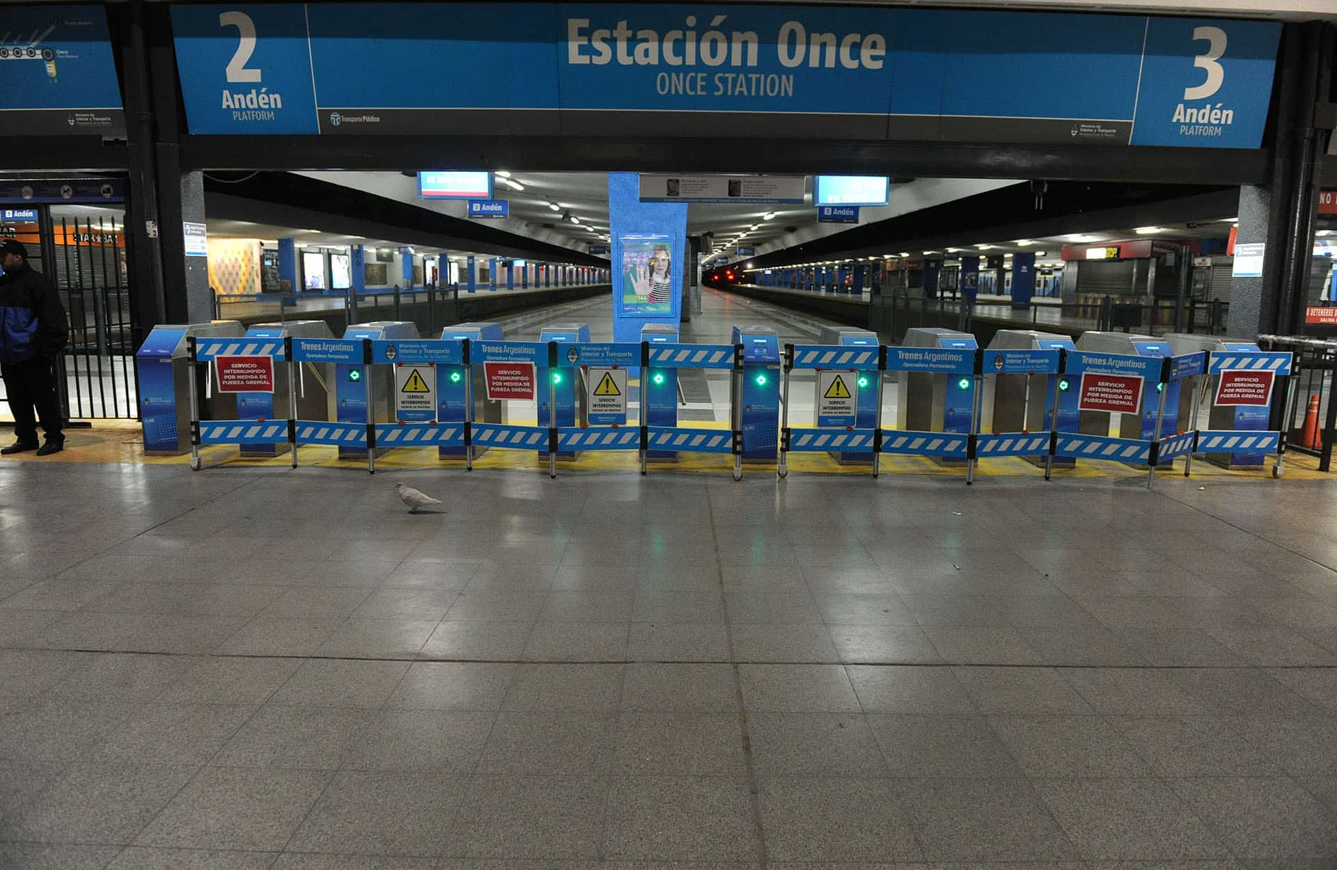 Nuevamene el Ferrocarril Sarmiento con problemas y con recorrido hasta Liniers
