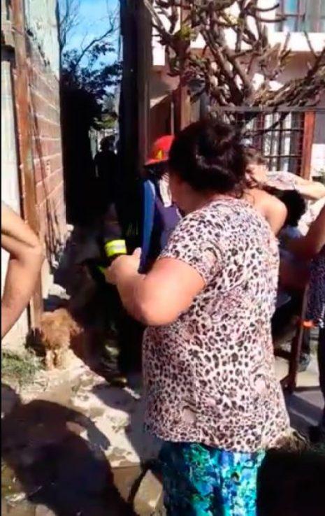 Dos tragedias en una semana: Se incendió una vivienda en el mismo pasillo donde murió Romelia Dos Santos 2
