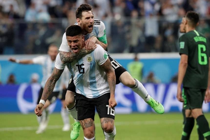 Argentina en octavos de final: sufrir para gozar.