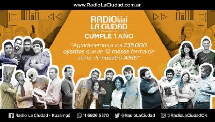 Radio La Ciudad cumple un año en una familia de 24.000 Ituzainguenses 2