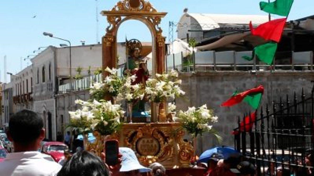 El domingo serán las fiestas patronales de nuestra ciudad en honor a San Judas Tadeo 2