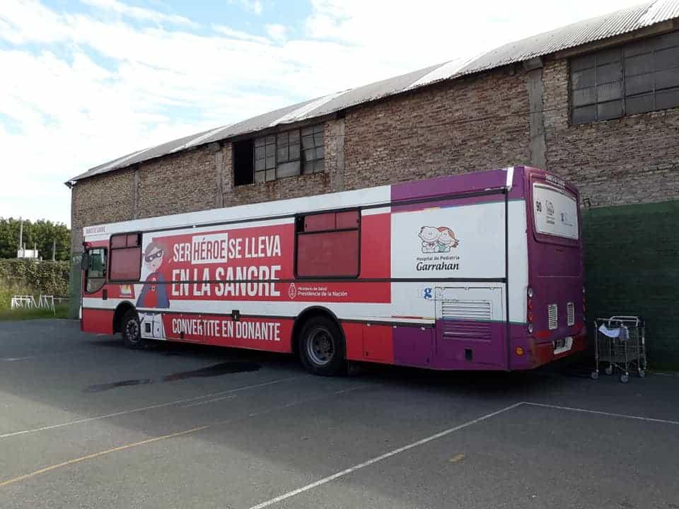 Este domingo habrá en Ituzaingó una campaña de donación de sangre para el Garrahan