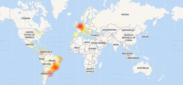 Facebook, Instagram y WhatsApp tienen problemas a nivel global