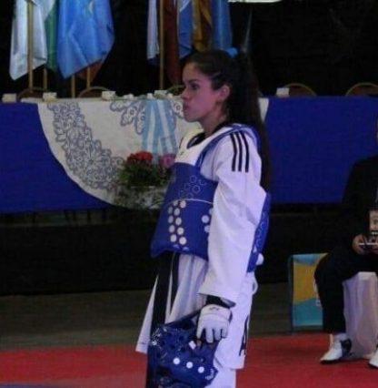 Con Carolina Pascal Ituzaingó estará presente en el Open G1 de taekwondo en Chile 2