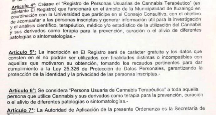 A partir de mañana Ituzaingó incorpora el cannabis medicinal a su sistema de salud 2