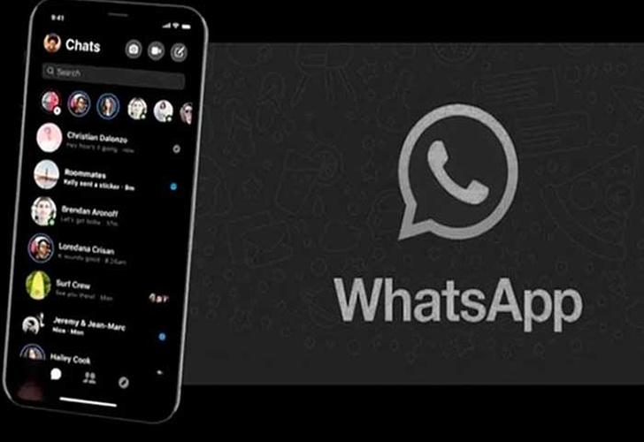 """El """"Modo Oscuro"""" de Whatsapp ya está disponible en su versión Beta"""