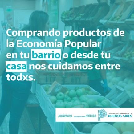 En la Provincia de Buenos Aires impulsan el consumo de cercanía para llevar los alimentos hasta los hogares 1