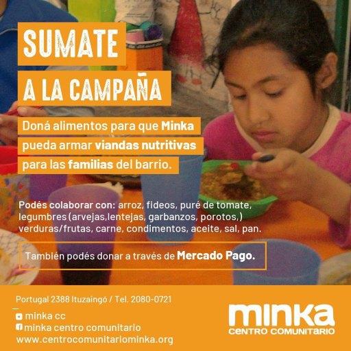 El centro comunitario Minka organiza un locro solidario para el 20 de junio 2