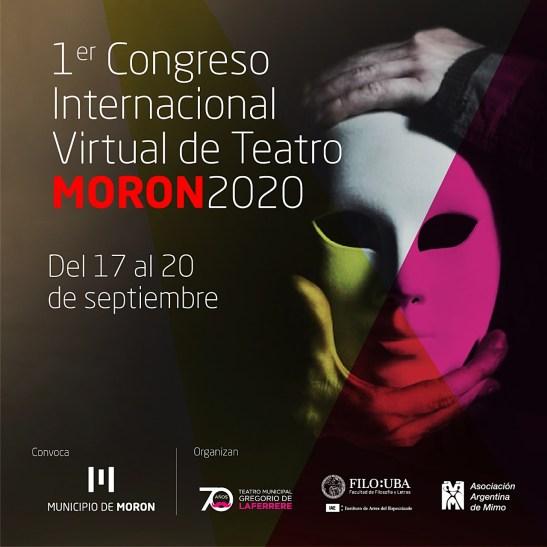 Morón convoca a colectivos teatrales a participar del Congreso Internacional Virtual de Teatro 1