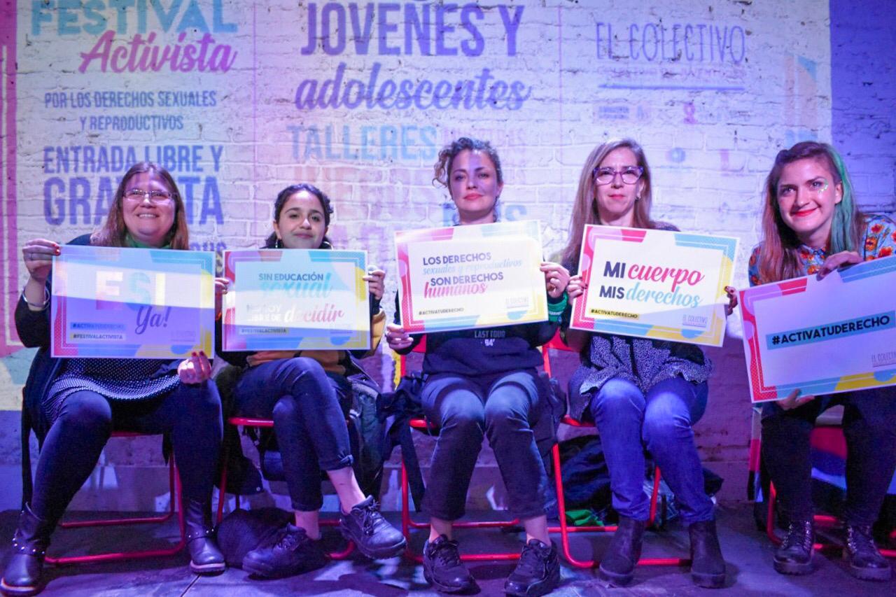 Se realizará virtualmente el Festival Activista por los derechos Sexuales y Reproductivos de las juventudes