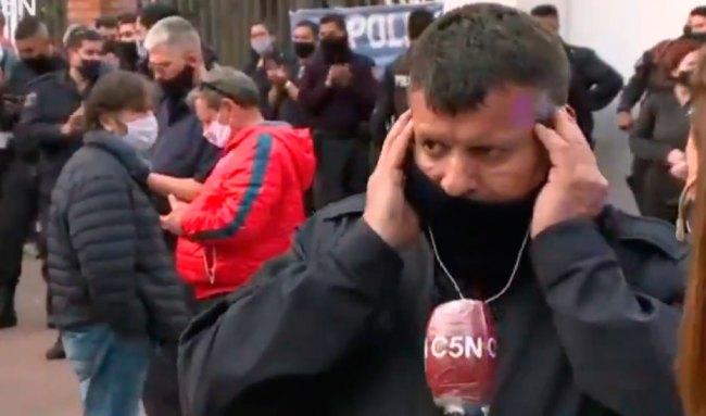 Los policías en Olivos rechazaron 2 veces la invitación del Presidente para conversar 2
