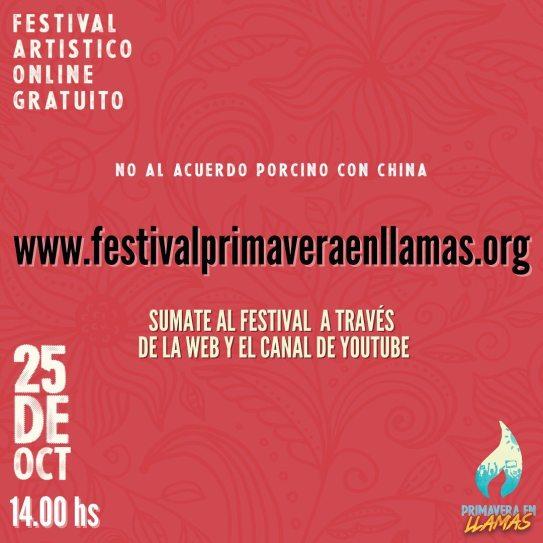 Charlas y festivales virtuales por una mayor conciencia ambiental 1