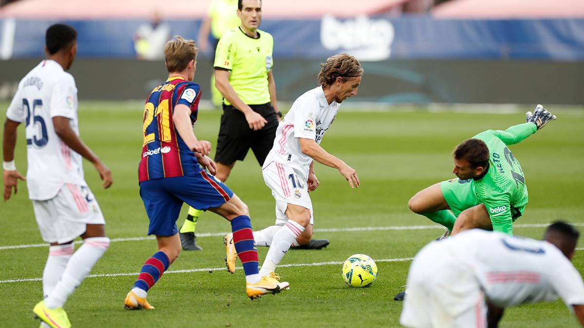 La contundencia del Real Madrid fue más que las ganas de Messi y compañía