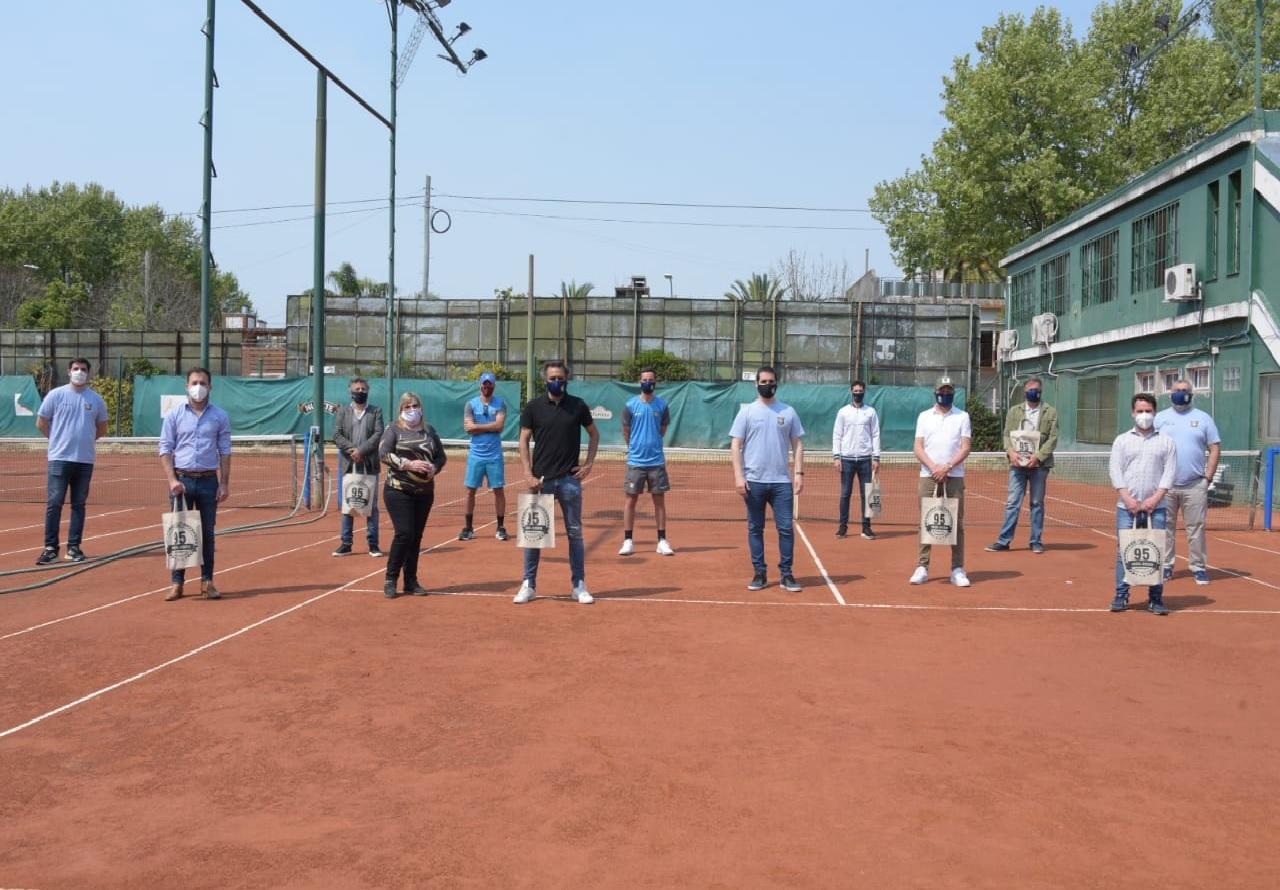 La Asociación Argentina de Tenis llegó a Ituzaingó