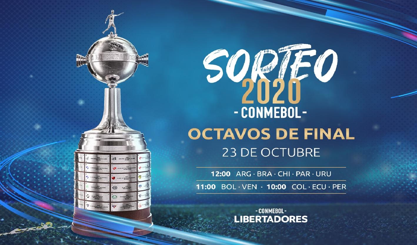 Los octavos de la Libertadores y la Sudamericana se sortearan el viernes 23