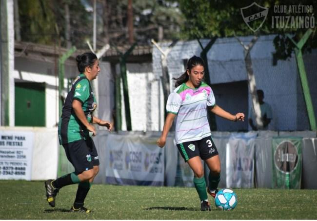 Fútbol femenino: Las Leonas del CAI vuelven a entrenarse, pensando en el reducido 1