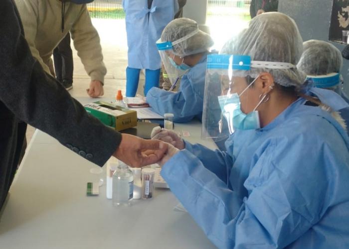 Llega a Ituzaingó un estudio de seroprevalencia de Covid-19 a cargo de la Provincia