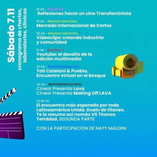 FINDE Audiovisual: Una nueva edición de la feria virtual promovida por el gobierno bonaerense 1
