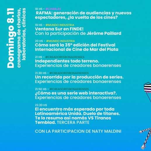 FINDE Audiovisual: Una nueva edición de la feria virtual promovida por el gobierno bonaerense 2