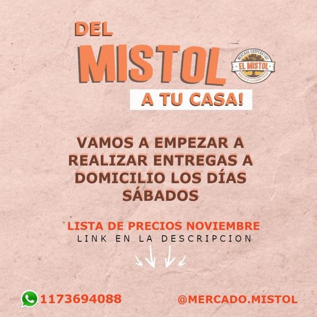 Ituzaingó: El mercado El Mistol ya recibe pedidos a domicilio 1