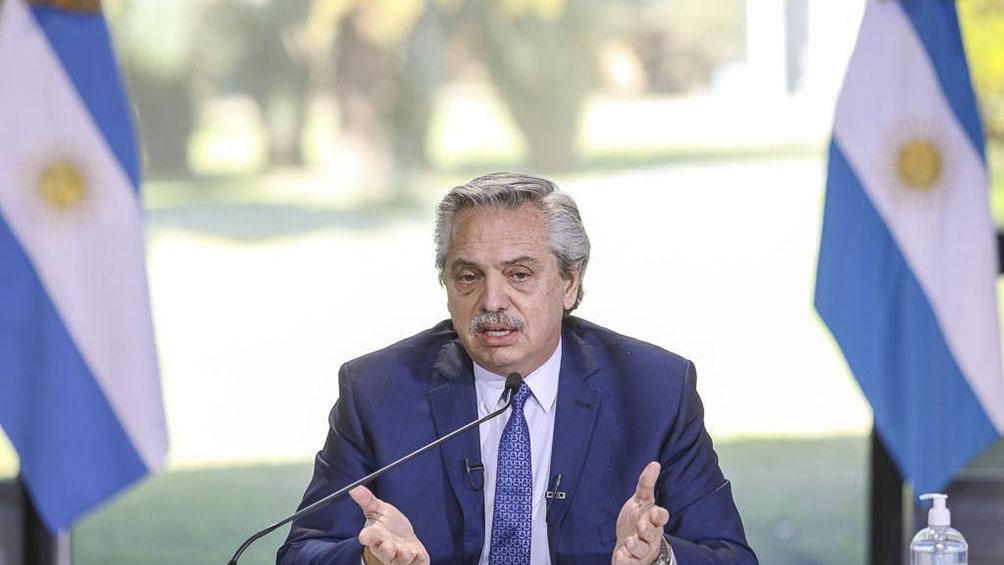 Hisoparon al presidente Alberto Fernández después que un ministro diera positivo