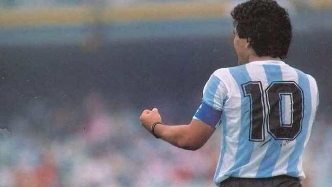 Así será el homenaje a Diego Maradona en el fútbol argentino 1