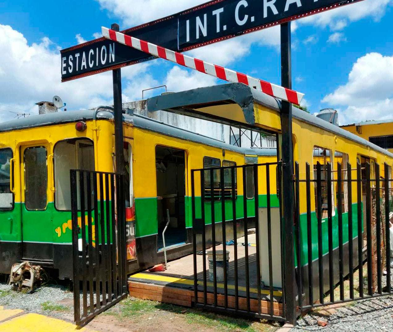 """Ituzaingó: desde este viernes ya se podrá visitar """"La Estación Ratti"""""""