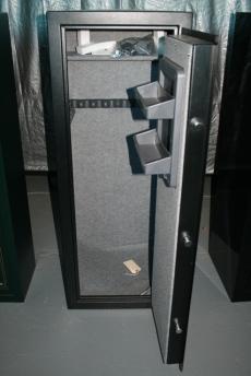 Used Stack On 10 Gun Safe Black ELock GSB 710E