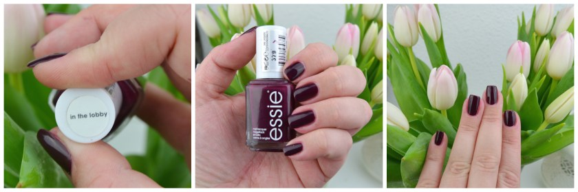 Essie, In The Lobby, Swatch, Swatches, Tragebild, Nagellack, Polish, Nail, Nails
