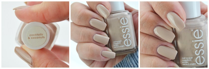 Essie, Cocktails & Coconuts, cocktails, and, coconuts, &, nagellack, nail, nails, polish, varnish, lacquer, swatch, swatches, nailswatch, beige, nude, LE, resort, 2014