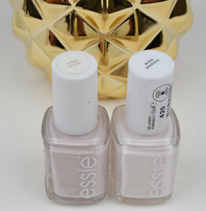 Essie, Coconut Cove, LE, Viva Antigua, Summer, Sommer, 2016, Pineapple, Ananas, Swatch, Swatches, Nailswatch, Nail, Nails, Lacquer, Polish, Varnish, Vergleich, Fiji, Urban Jungle, Blanc, Private Weekend