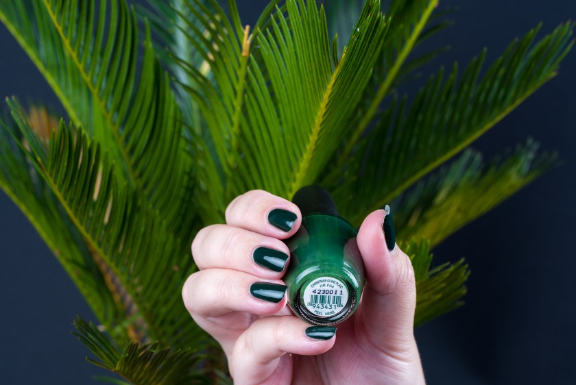 OPI, Polish, Varnish, Lacquer, Nail, Nails, Nagellack, Lack, grün, green, Gwen stefani, LE, christmas, christmas gone plaid, palmengrün, palm, palms, not, swatch, swatches, nailswatch, nagelswatch
