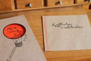 carnet premiers souvenirs