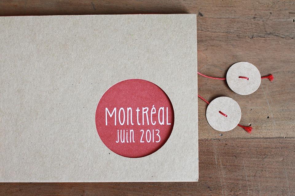 Carnet de voyage, Montréal