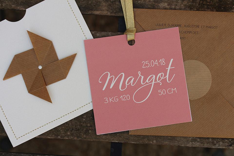 Faire-part Margot