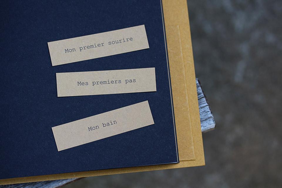 Carnet premiers souvenirs Lise