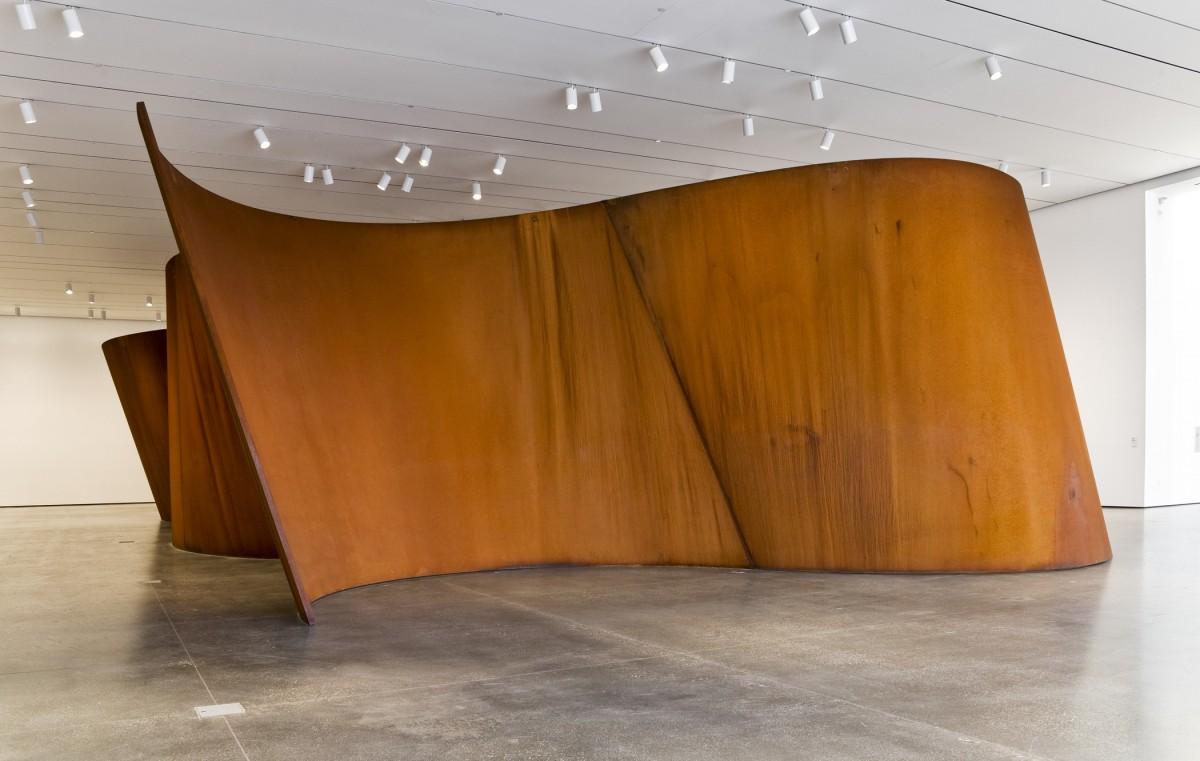 Richard Serra Band Lacma