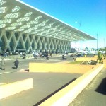 Maroko - Marakeš - letisko
