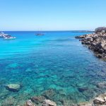 Priezračné more na Cape Greco