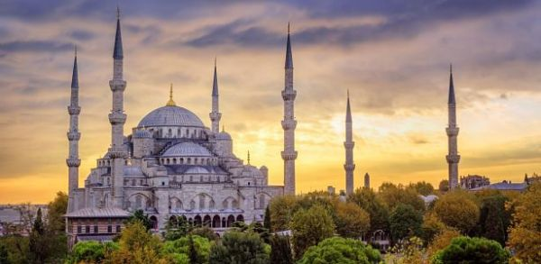 Blue Mosque lacne dovolenky