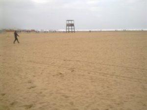Pláž v Agadire