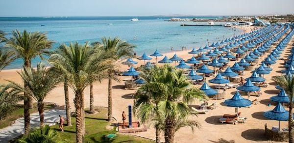 Hurghada pláž lacne dovolenky
