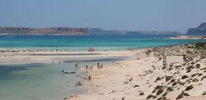 pláž balos kŕeta lacné dovolenky